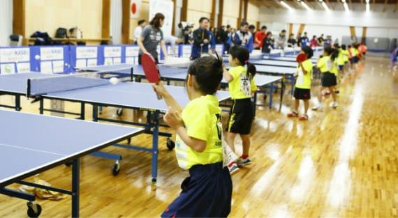 U-7卓球選手育成事業について